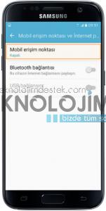Samsung s8 wifi alanı açma