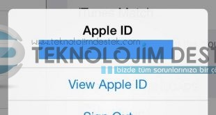 Apple hesabı nasıl açılır