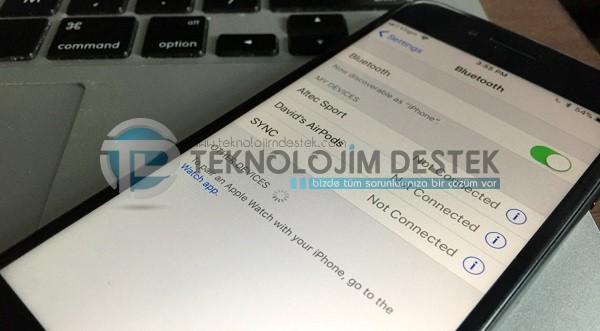 iphone 8 bağlantı ayarları LTE, taşınabilir Wi-Fi