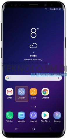 Samsung Galaxy S9 Fabrika ayarlarına geri alma, Galaxy S9 fabrika ayarlarına geri dönme, Galaxy S9 format atmai Galaxy S9 Plus reset atma, Galaxy S9 sıfırlama nasıl yapılır? Samsung Galaxy S9 fabrika ayarlarına alma, Resimli anlatım S9 format atma