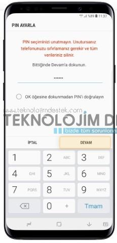 Samsung S9 ve S9 Plus Yüz tanıma nasıl yapılır?, Galaxy S9 yüz tanıma özelliği nasıl kullanılır?, Samsung S9 Plus yüz tanıma nasıl yapılır? Galaxy S9 yüz tanıma özelliği resimli anlatım