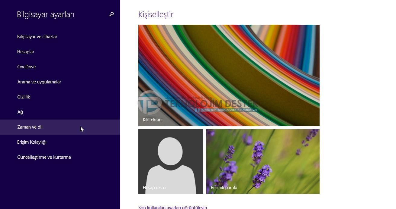 windows 8.1 dil