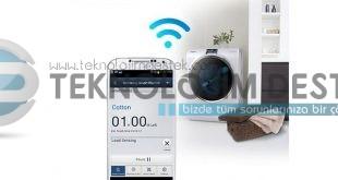 samsung akıllı çamaşır makinesi kontrol
