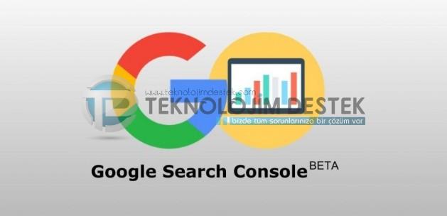yeni google arama konsolu, Google webmaster