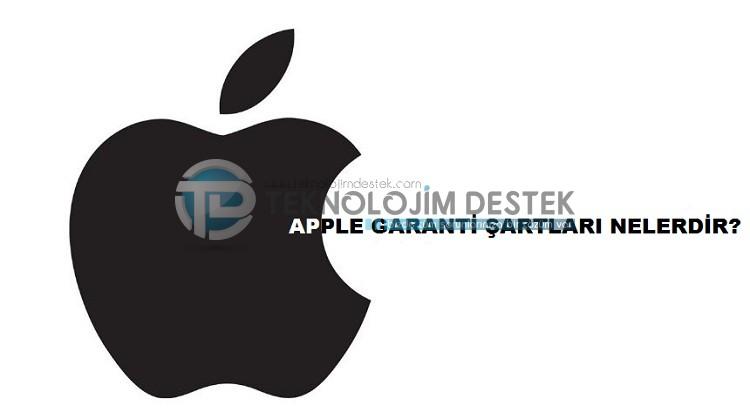 apple garanti süresi