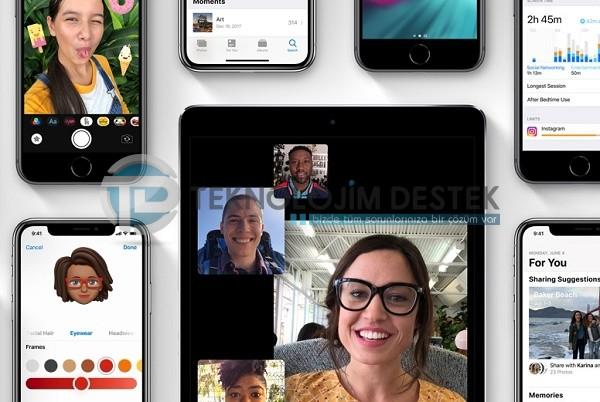 ios 12 özellikleri nelerdir, ios 12 destekleyen iphone modelleri