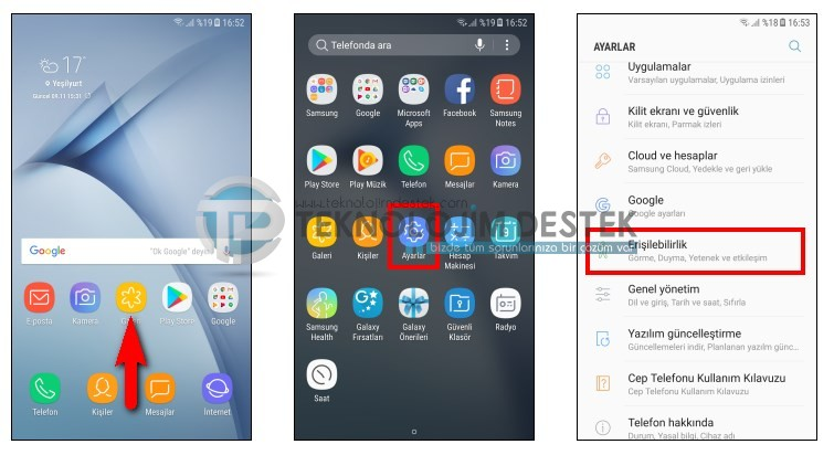 Samsung flash bildirimi açmak, Samsung flash bildirimleri nasıl kapatılır