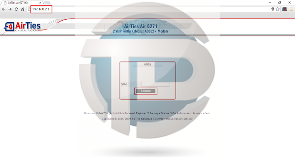 Airties modemlerde port yönlendirme işlemi nasıl yapılır? Airties Air 6271 port yönlendirme, Airties Air 6271 DMZ etkinleştirme işlemi nasıl yapılır?