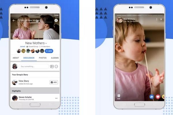 Facebook Gruplara yeni özellik Hikayeler