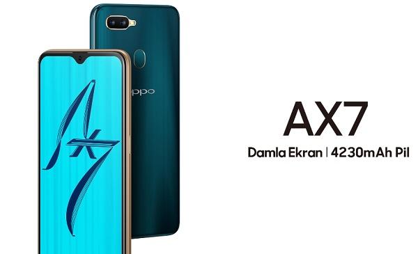 Oppo AX7, Oppo teknoloji