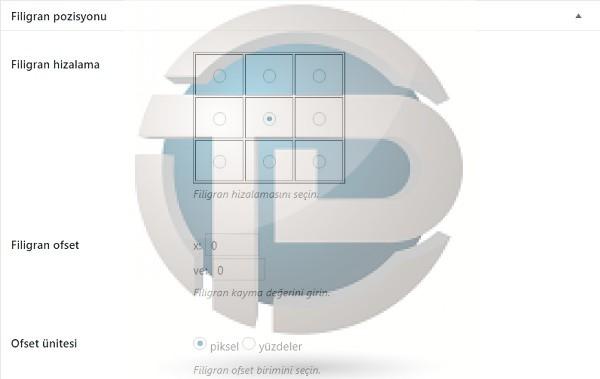 Wordpress resimlere otomatik logo yükleme eklentisi2