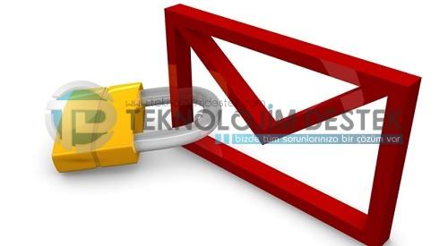 E-posta adresinizi koruma altına alın!