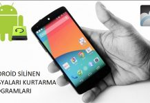 Android silinen dosyaları kurtarma programları, Android fotoğraf kurtarma