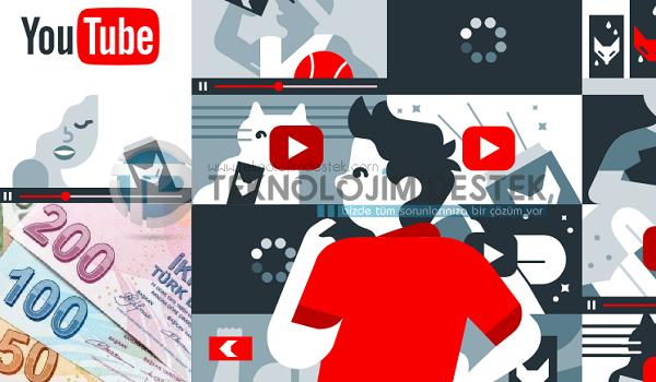 Youtube'den nasıl para kazanılır 2019