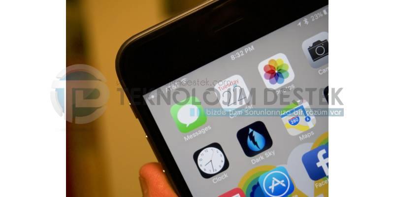 iPhone 7 kablosuz ayarları