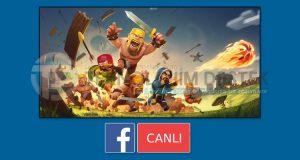 Facebook canlı oyun yayını nasıl yapılır?