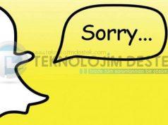 snapchat durduruldu hatası nedir