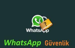 Whatsapp hesabımı nasıl korurum