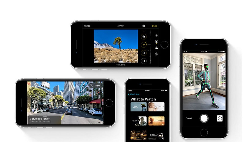 iphone SE 2020 testi