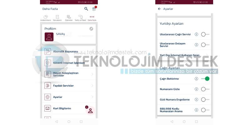 Türk Telekom arama bekletme nasıl etkinleştirilir?
